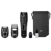 Braun BT5070 Beard Trimmer With 2 Comb Attachments+ Soft Bag