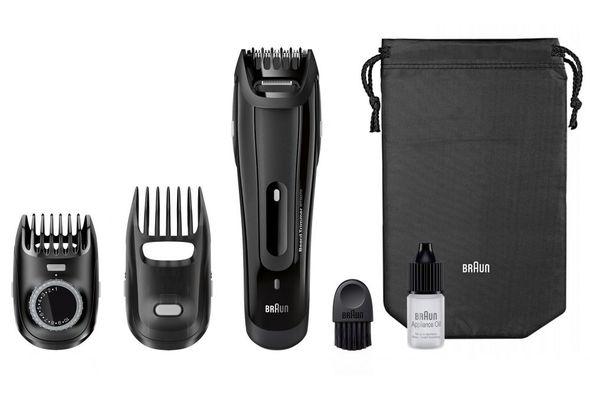 Braun BT5070 Beard Trimmer With 2 Comb Attachments+ Soft Bag