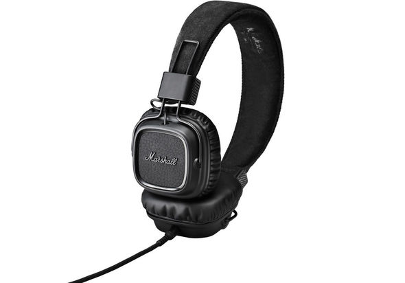 Marshall Major II Headphones, Pitch Black