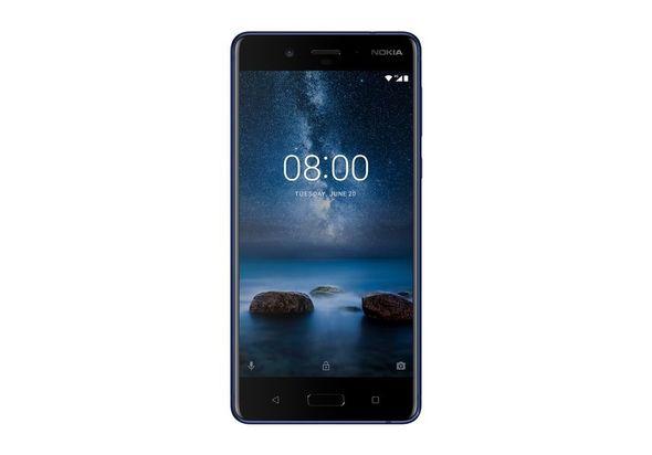 Nokia 8 Smartphone LTE, Glossy Blue