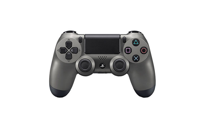 سوني PS4 Dualshock جهاز تحكم لاسلكي ، ستيل أسود