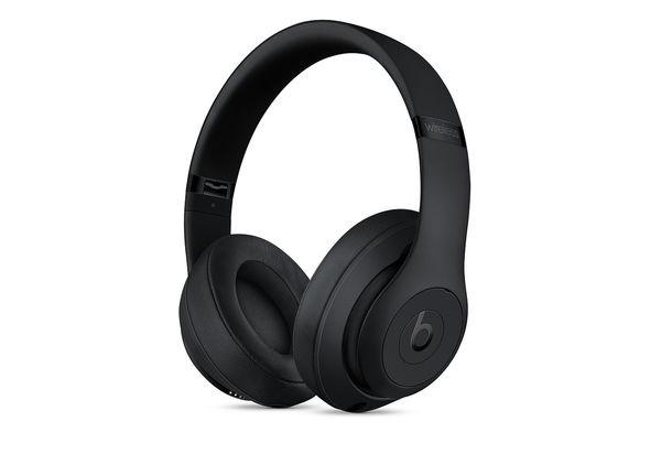 Beats Studio3 Wireless Over-Ear Headphones, Matt Black