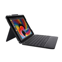 Logitech Slim Combo iPad Keyboard Case for 5th & 6th Gen