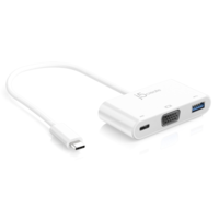 j5create JCA378 USB Type-C to VGA & USB 3.0 with Power Delivery