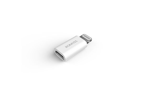 Romoss Lightning to Micro USB Adapter