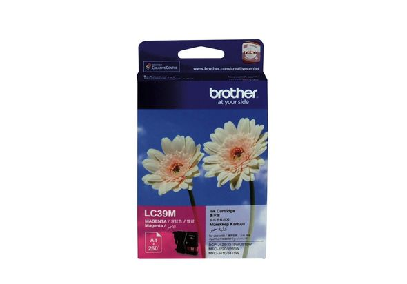 Brother LC39M Ink Cartridge, Magenta
