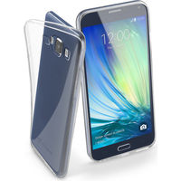 Cellularline FINE Rubber Case For Samsung Galaxy A7, Transparent