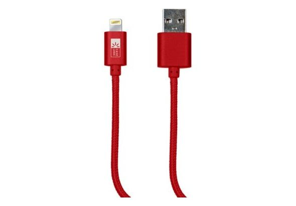 Case Logic 6  MFI Lightning Cable, Red