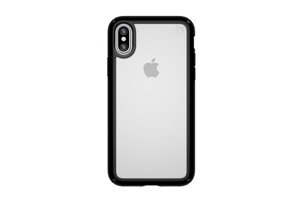 Speck Presidio Show Case for iPhone X, Clear/Black