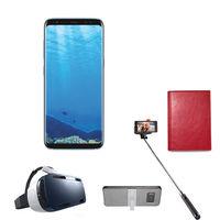 Samsung Galaxy S8 Smartphone LTE, Coral Blue