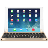 "Brydge 9.7 Bluetooth Keyboard for iPad Air 1/2, Pro 9.7"" & 2017/2018 iPad,  Gold"