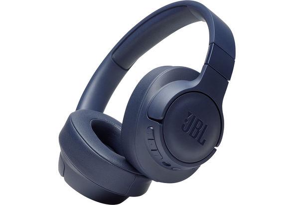 JBL TUNE 750BTNC Noise-Canceling Wireless Over-Ear Headphones,  Blue