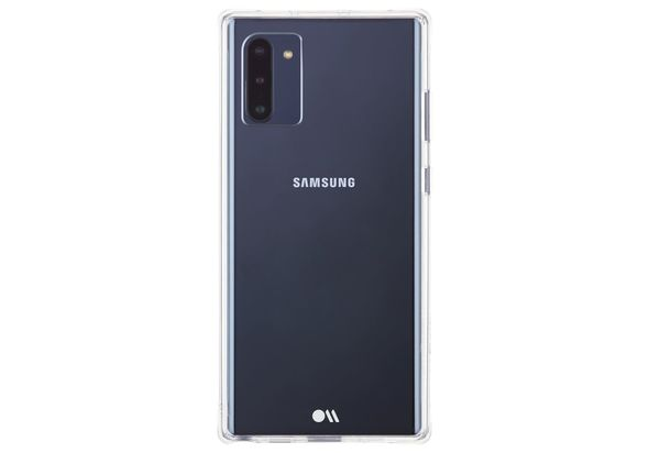 Case Mate Tough Case for Samsung Note 10, Clear