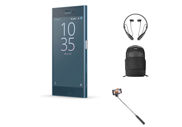 Sony Xperia XZ Smartphone LTE, Forest Blue