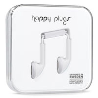 Happy Plugs Earbud, White