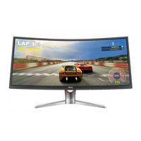 "BenQ XR3501 35"" Ultra Curve Gaming Monitors"