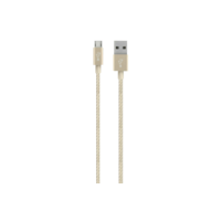 Belkin MIXIT 4' Metallic Micro-USB to USB Cable, Gold