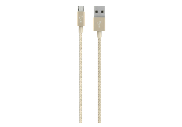 Belkin MIXIT 4  Metallic Micro-USB to USB Cable, Gold