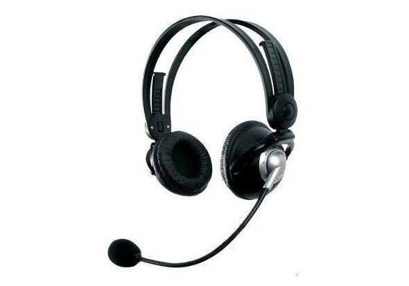 Creative HS-350 Headset with Microphone - Black
