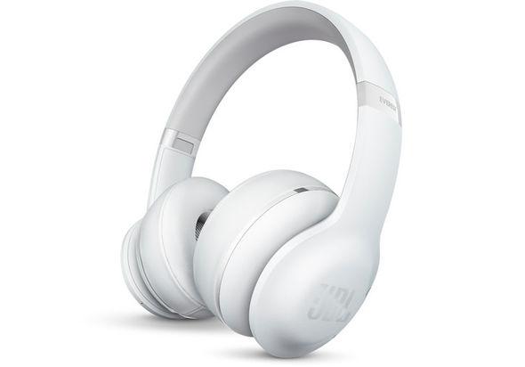 JBL Everest 300 On-Ear Wireless Headphones, White