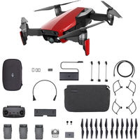 DJI Mavic Air Fly More Combo, Flame Red