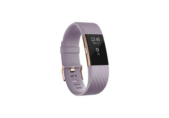 Fitbit Charge 2 Fitness bracelet small, Lavender Rose Gold