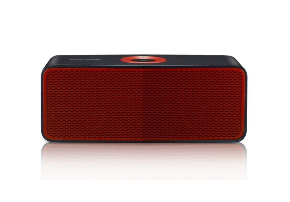 LG Music Flow P5 Portable Bluetooth Speaker (Black Red)