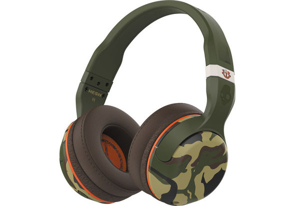 Skullcandy Hesh 2 Wireless Bluetooth Headphones, Camo