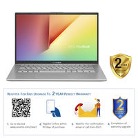 "Asus VivoBook 14 A412UF i7 8GB, 1TB+ 128GB 2GB Graphic 14"" Laptop, Transparent Silver"