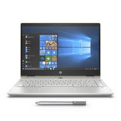 "HP Pavilion x360 i5 8GB, 1TB+ 128GB 2GB Graphic 14"" Laptop, Silver"
