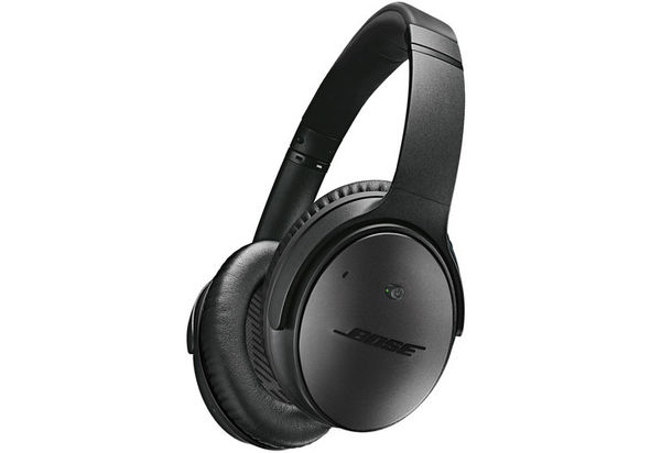 Bose QuietComfort 25 Acoustic Noise Cancelling Headphones for Apple Devices, Triple Black