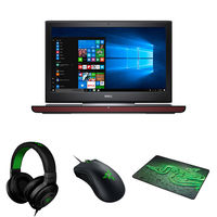 "Dell 7567 I7-7700HQ, 16 GB, 1TB 15"" Gaming Laptop, Red"