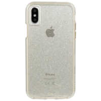 Case Mate Naked Tough Case for Apple iPhone X, Sheer Glam