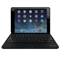 Zagg Folio Case Hinged with Bluetooth Keyboard for iPad Air 2, Black
