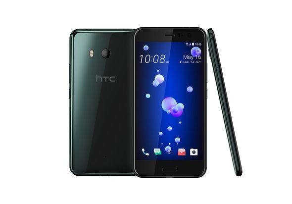 HTC U 11 Smartphone LTE, Brilliant Black