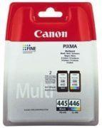 Canon Inkjet Cartridge Black & Multipack Color PG445/CL446