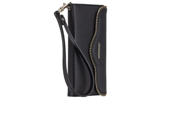 Case-Mate Rebecca Minkoff Leather Wristlet, Black