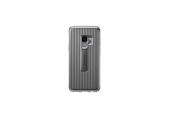 Samsung Galaxy S9 Protective Stand Cover, Silver