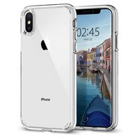 Spigen Ultra Hybrid Case for iPhone XS, Crystal Clear