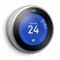 Nest Learning Thermostat Stainless Steel