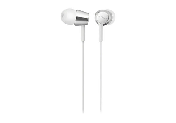 Sony EX155 In-Ear Headphones (White)