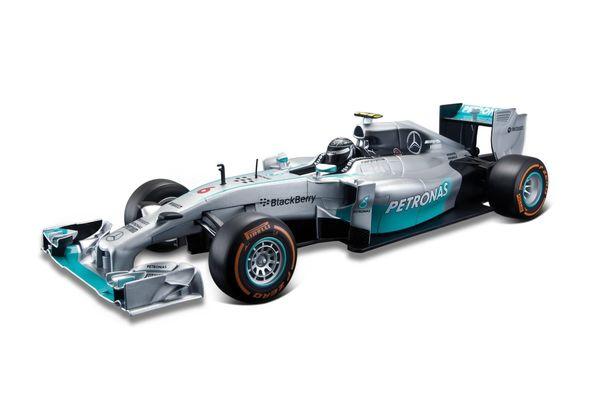 Maisto 1: 14 Mercedes Racing F1 Remote Control Car