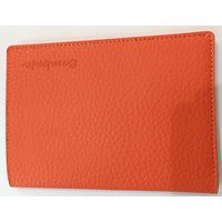 Bombata Genuine Leather Passport case, Orange