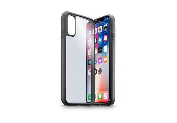 Cellularline Contour Essential Elegant Case for iPhone X, Black