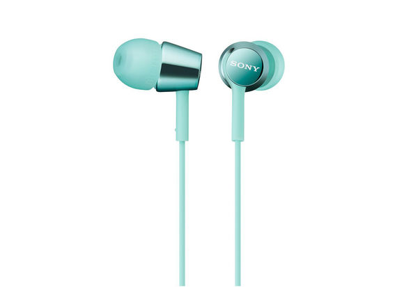 Sony EX155 In-Ear Headphones (Light Blue)