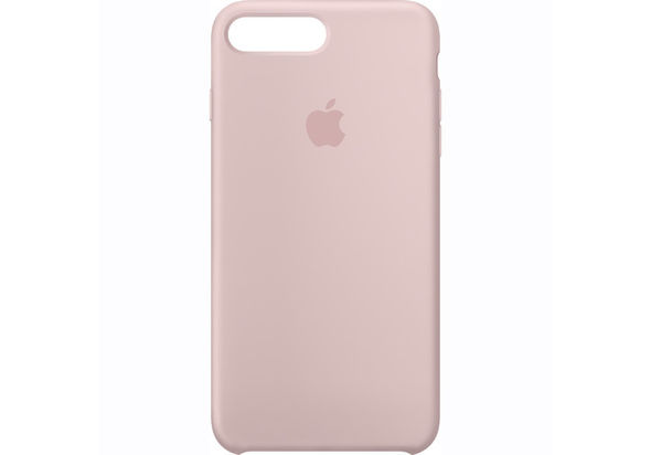 Apple iPhone 7 Plus Silicone Case, Pink Sand