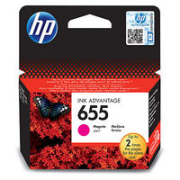 HP CZ111AE 655 Magenta Original Ink Advantage Cartridge