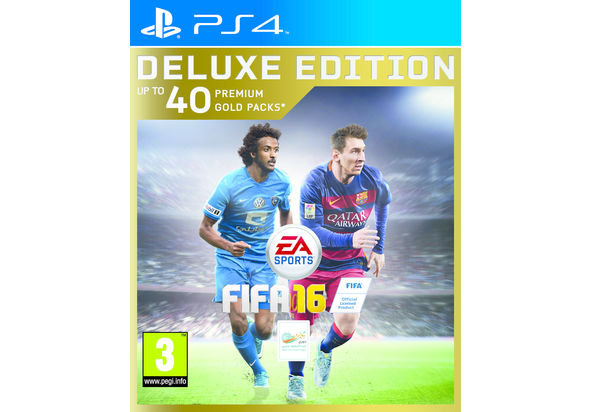 FIFA 16 Deluxe Edition for PS4