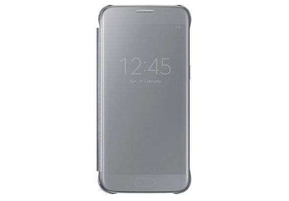 Samsung Galaxy S7 Clear View Cover Silver