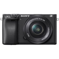 Sony Alpha a6400 Mirrorless Digital Camera with 16-50mm Lens,  Black